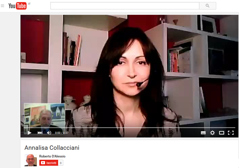 """Videointervista per il blog """"Esperienze di comunicazione pubblica"""" di Roberto D'Alessio"""