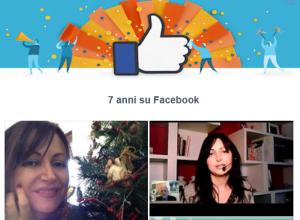 Il mio 7° anniversario con Facebook
